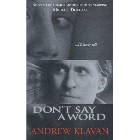 Don't Say a Word - eBook