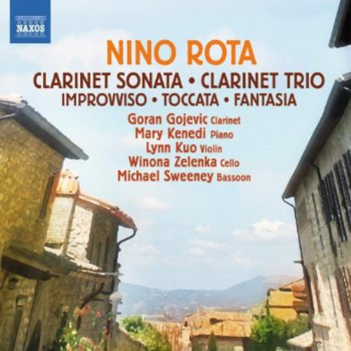 Clarinet Trio   Improvviso for Violin & Piano by NAXOS