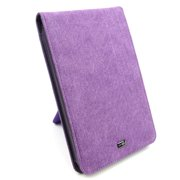 "JAVOedge Purple Fabric Flip Case with Stand for Amazon Kindle Fire 7"" - First Generation"