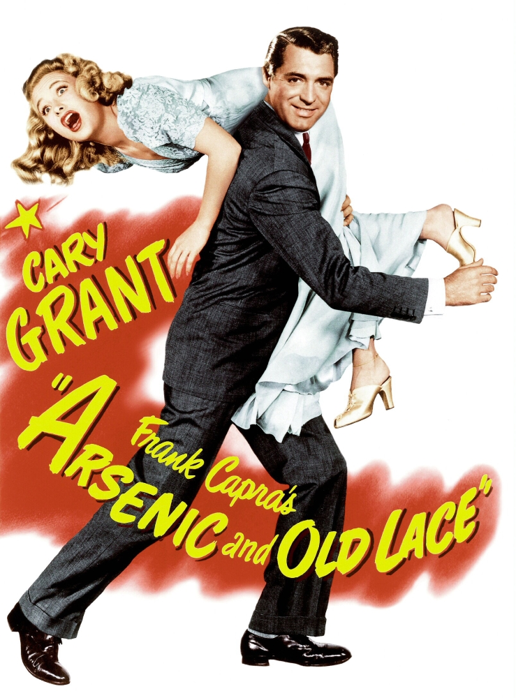 Arsenic And Old Lace Priscilla Lane Cary Grant 1944 Movie Poster Masterprint by Everett Collection