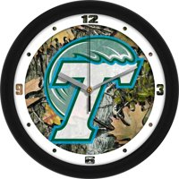 Tulane Camo Wall Clock