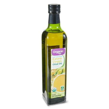 Great Value Organic Extra Virgin Olive Oil, 17 fl oz