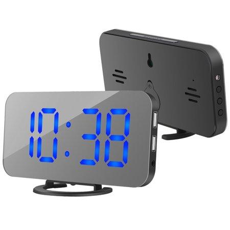 Alarm Century Single - Alarm Clock, Digital Clock with Large 6.5