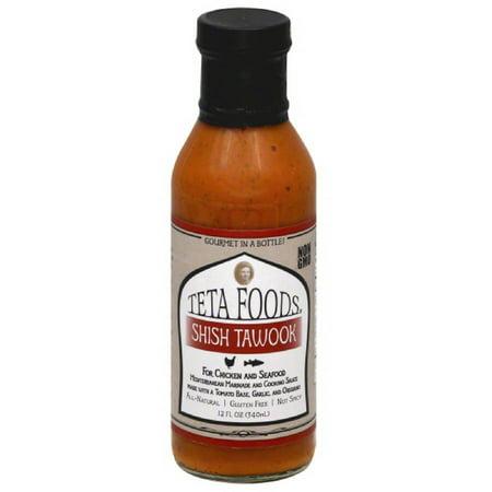 Teta Foods Shish Tawook Mediterranean Marinade & Cooking Sauce, 12 fl ...
