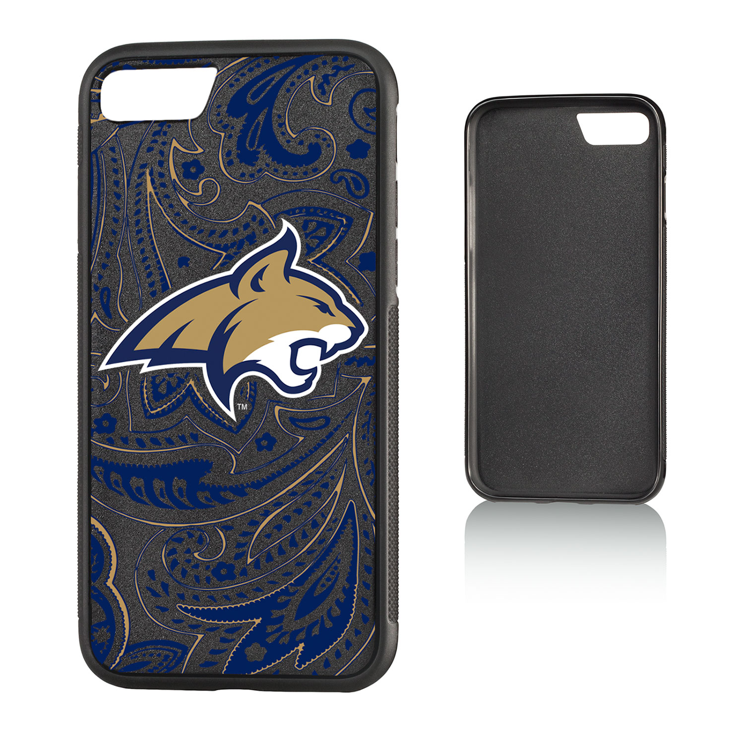MSU Montana State Bobcats Paisley Bump Case for iPhone 8 / 7