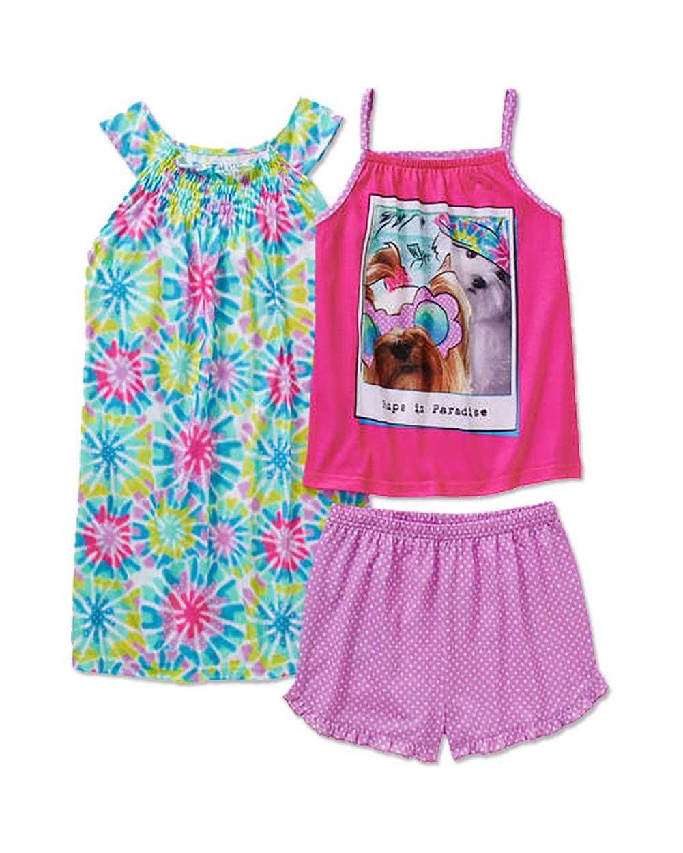 Komar Kids Girls My Little Pony 4-Piece Sleepwear Set