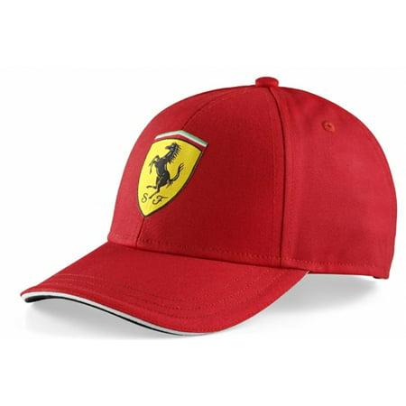 Ferrari Kids Red Shield Hat (Wer Hat Ferrari)