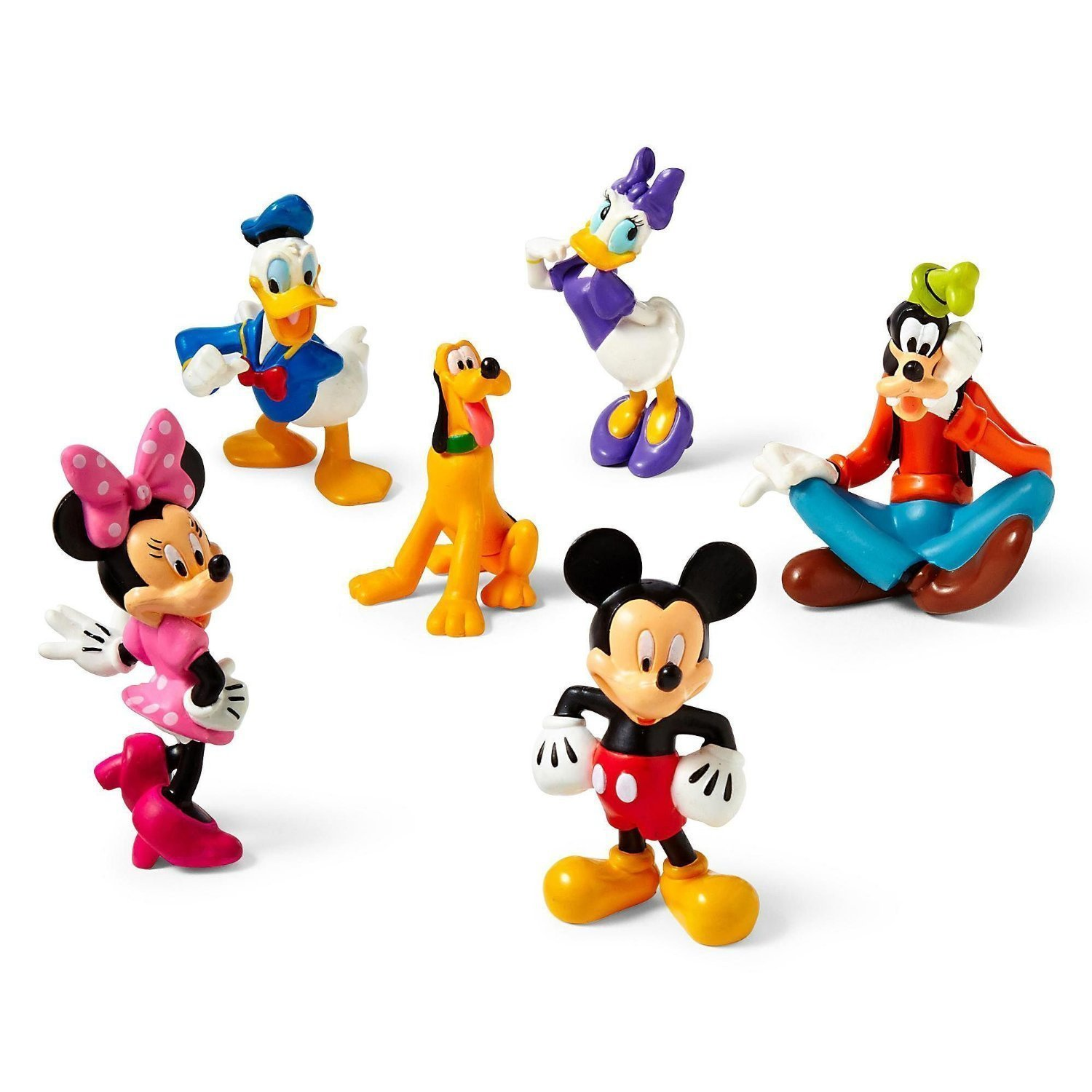 Disney Mickey Mouse Clubhouse Figure Play Set 6 Pc