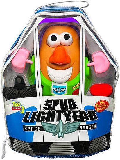 Toy Story 3 Spud Lightyear Space Ranger Mr. Potato Head by