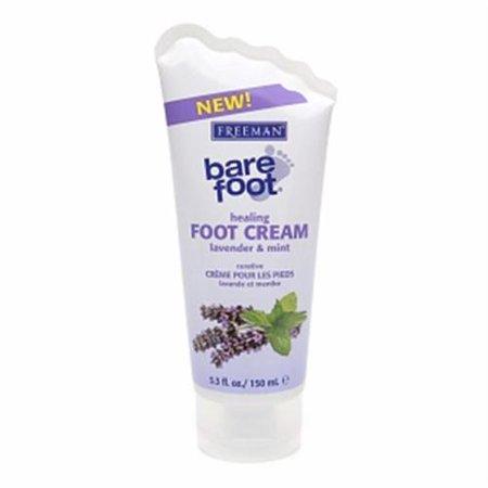 Freeman pied nu guérison Crème Pieds Lavande et menthe 5,30 oz (Lot de 4)