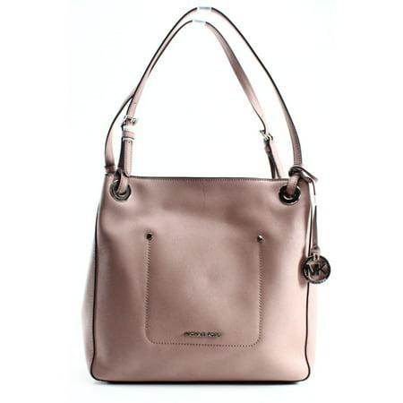 afa0b4ec391b91 Michael Kors - Michael Kors NEW Pink Saffiano Walsh Medium Shoulder Tote  Bag Purse - Walmart.com