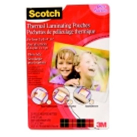 Scotch Pouches Thermal For Items Up To 4 x 6 In., Pack Of 20