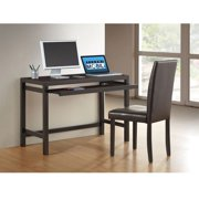 Techni Mobili Modern Desk and Chair Set, Espresso