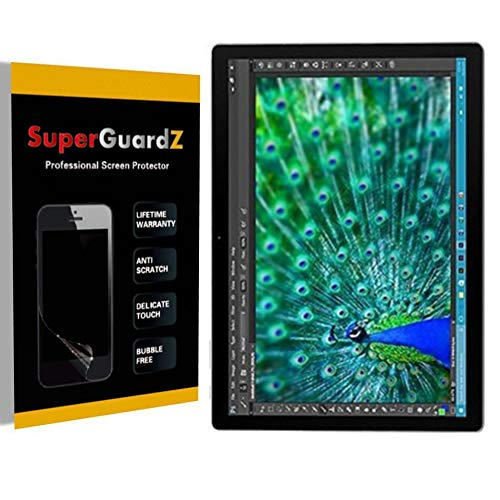 [3-Pack] For Microsoft Surface Pro 4 - SuperGuardZ Ultra Clear Screen Protector [Anti-Scratch, Anti-Bubble] + LED Stylus