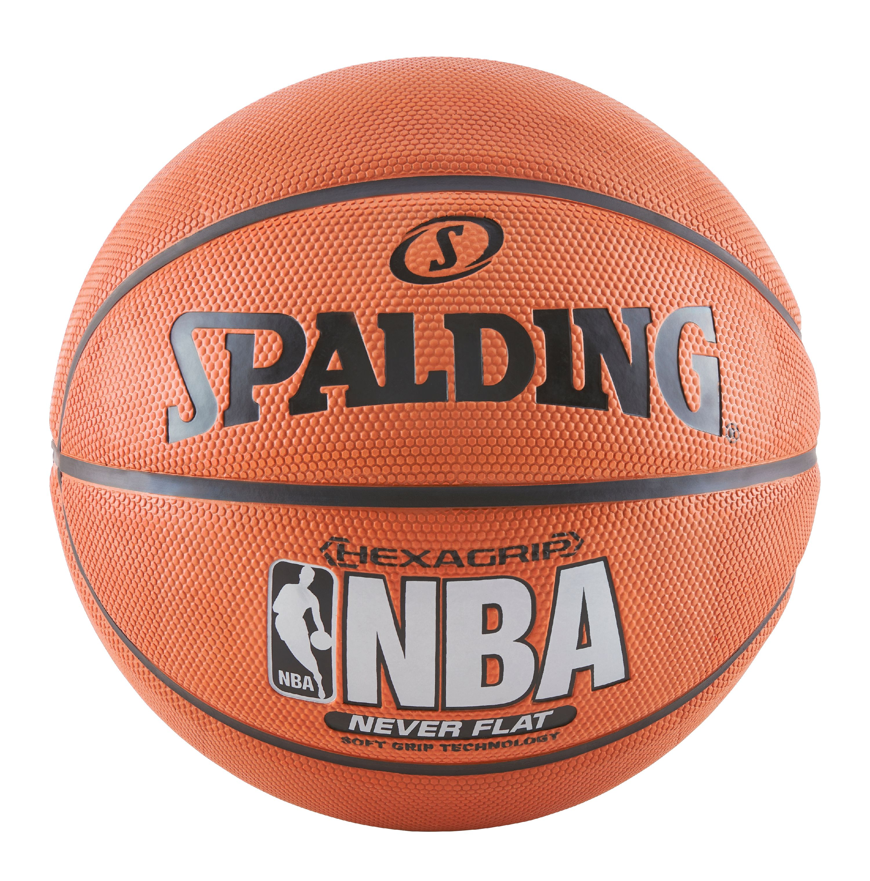 "Spalding NBA SGT Neverflat Hexagrip 29.5"" Basketball"
