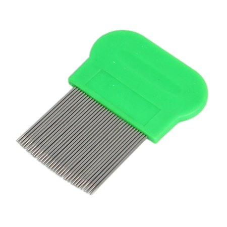 Hair Lice Comb Brushes Terminator Fine Egg Dust Nit Free Removal Stainless