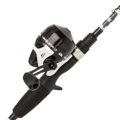 Tackle Ice Fishing Rod - Abu Garcia Ike Dude Spincast Reel and Fishing Rod Combo