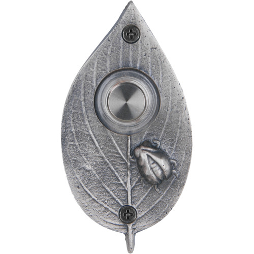 Waterwood Hardware Ladybug on Leaf Doorbell