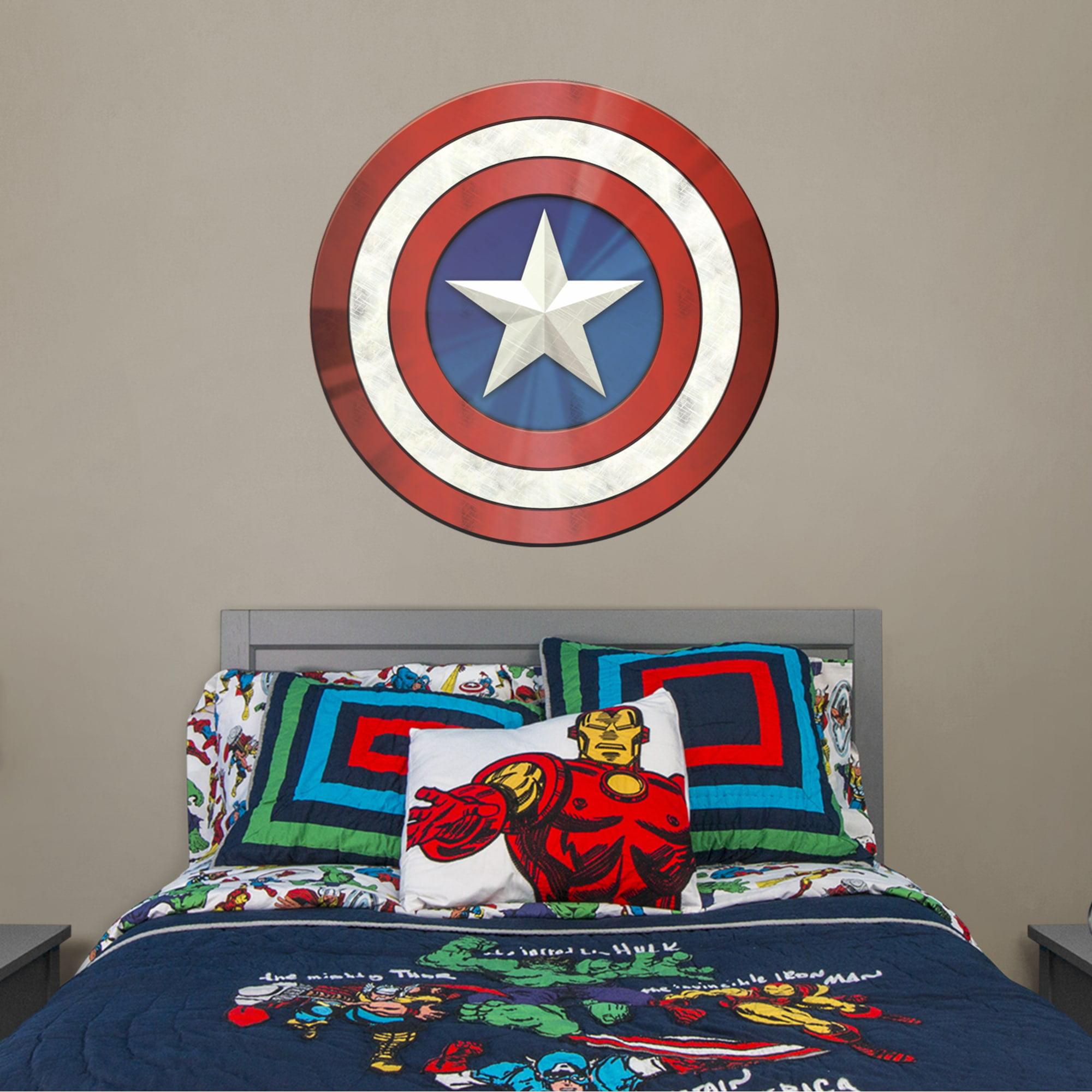 Marvel CAPTIAN AMERICA Bar Runner Mat for Man Cave Pool Room Christmas Gift