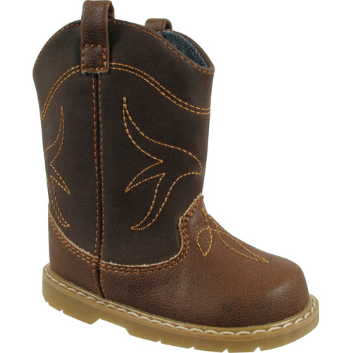 Natural Steps Boy's Toddler Clyde Western Boot