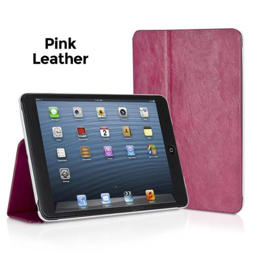XtremeMac Microfolio Leather Pink Case for iPad Mini