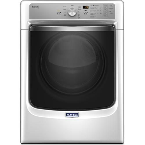 Maytag Heritage Series Laundry Pair With 4.6-cubic-foot Front-load Washer and 7.4-cubic-foot Gas Dryer white