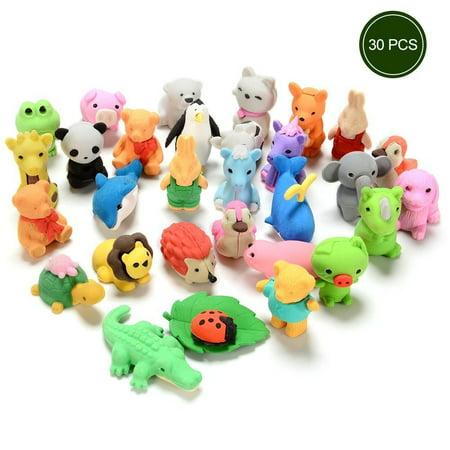 Amazon.com: Movable Dinosaur Erasers: Toys & Games |Sea Creature Erasers Toys