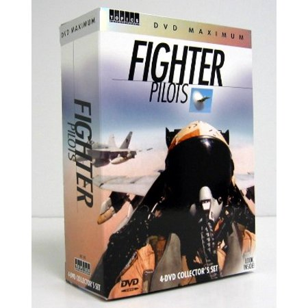 FIGHTER PILOTS 4 DVD Video Set (F-14 Tomcat, F-16 Fighting Falcon, F-15 Eagle, F/A-18