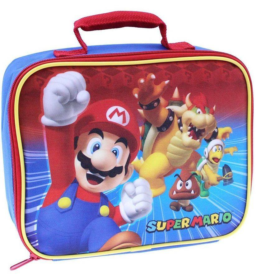 Nintendo Super Mario Square Lunch Kit