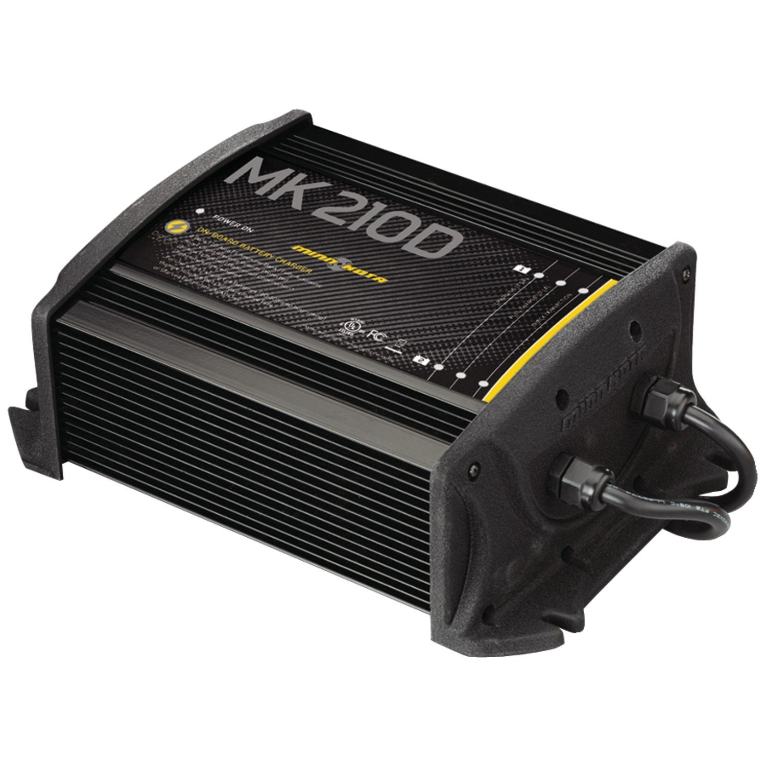 Minn Kota MK 210D On_Board Battery Charger (2 Banks, 5 amps per bank)