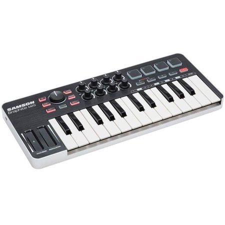 Samson Graphite 25-Key Mini Keyboard MIDI USB