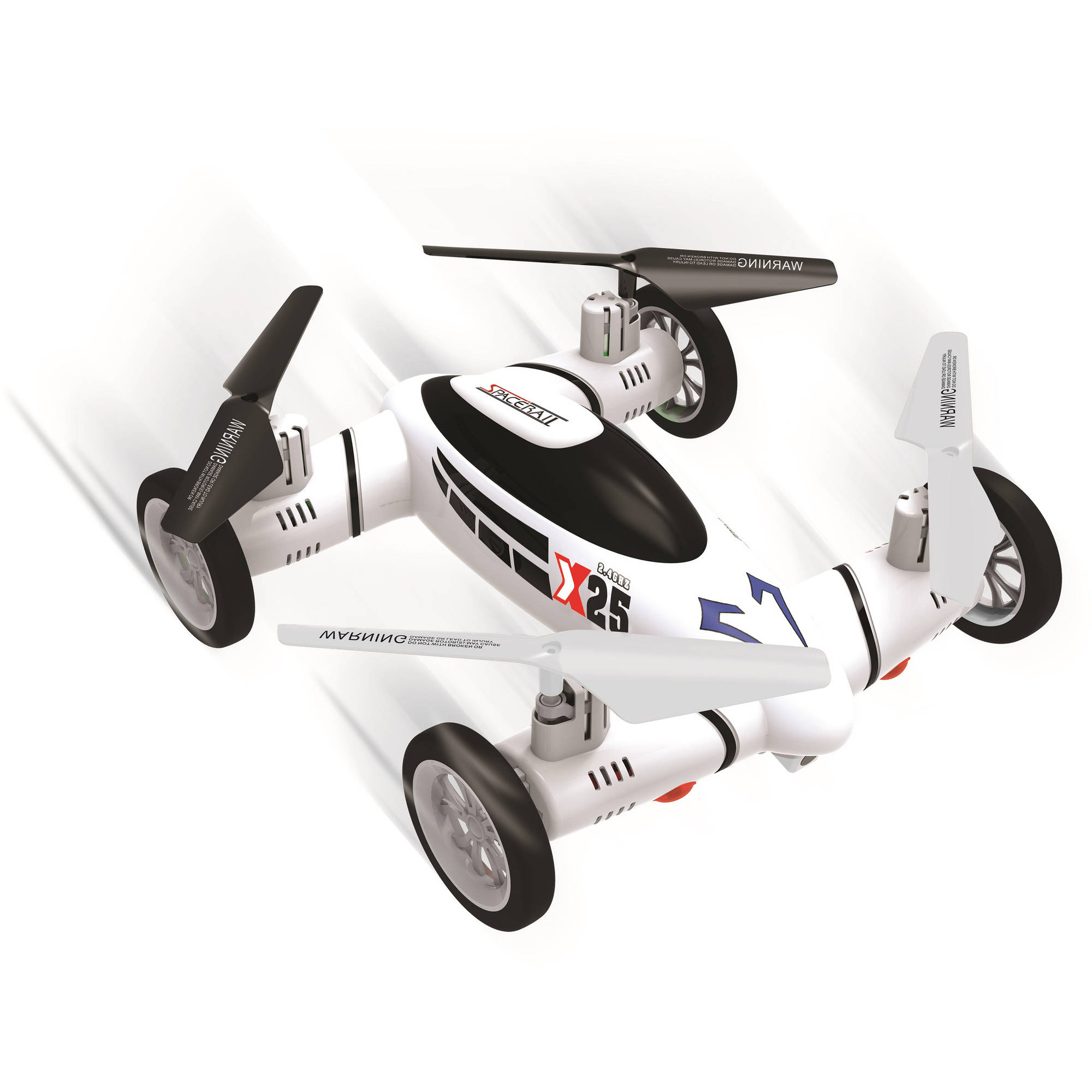Spacerails 2.4 GHz RC Flying Car
