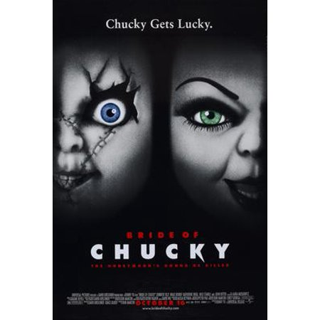 Bride Of Chucky Movie Poster 11x17 Mini - Chucky And The Bride Of Chucky Costume