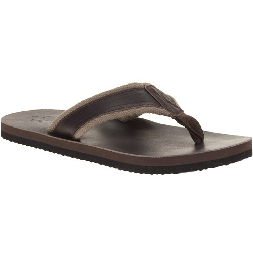 Faded Glory - Men's Byron Striped Thong Sandals