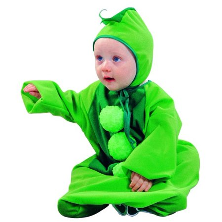Sweet Pea Pod Baby Bunting Costume - Three Peas In A Pod Halloween Costume