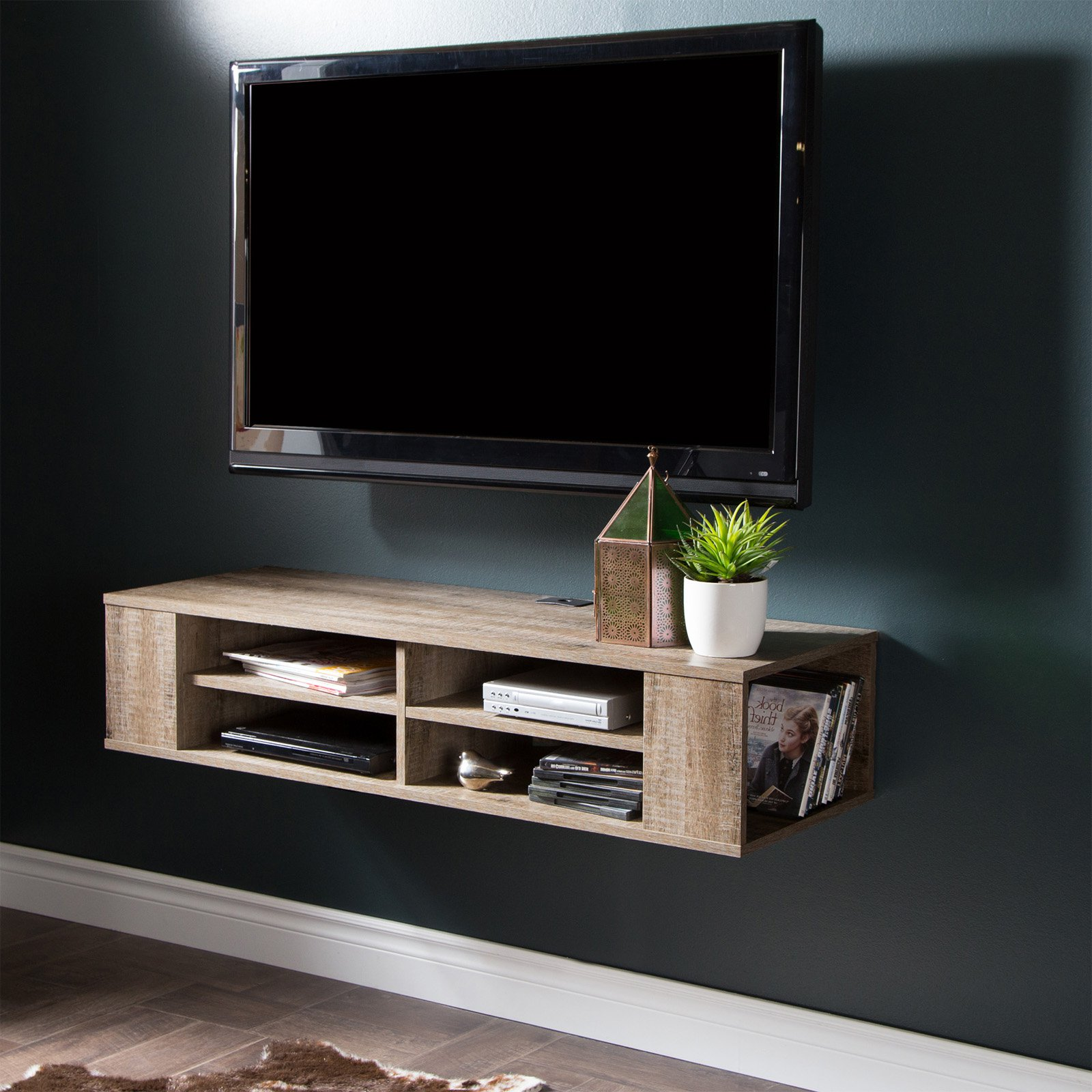 Floating Tv Stand South Shore City Life 66 Wall Mounted Tv Stand Multiple Finishes