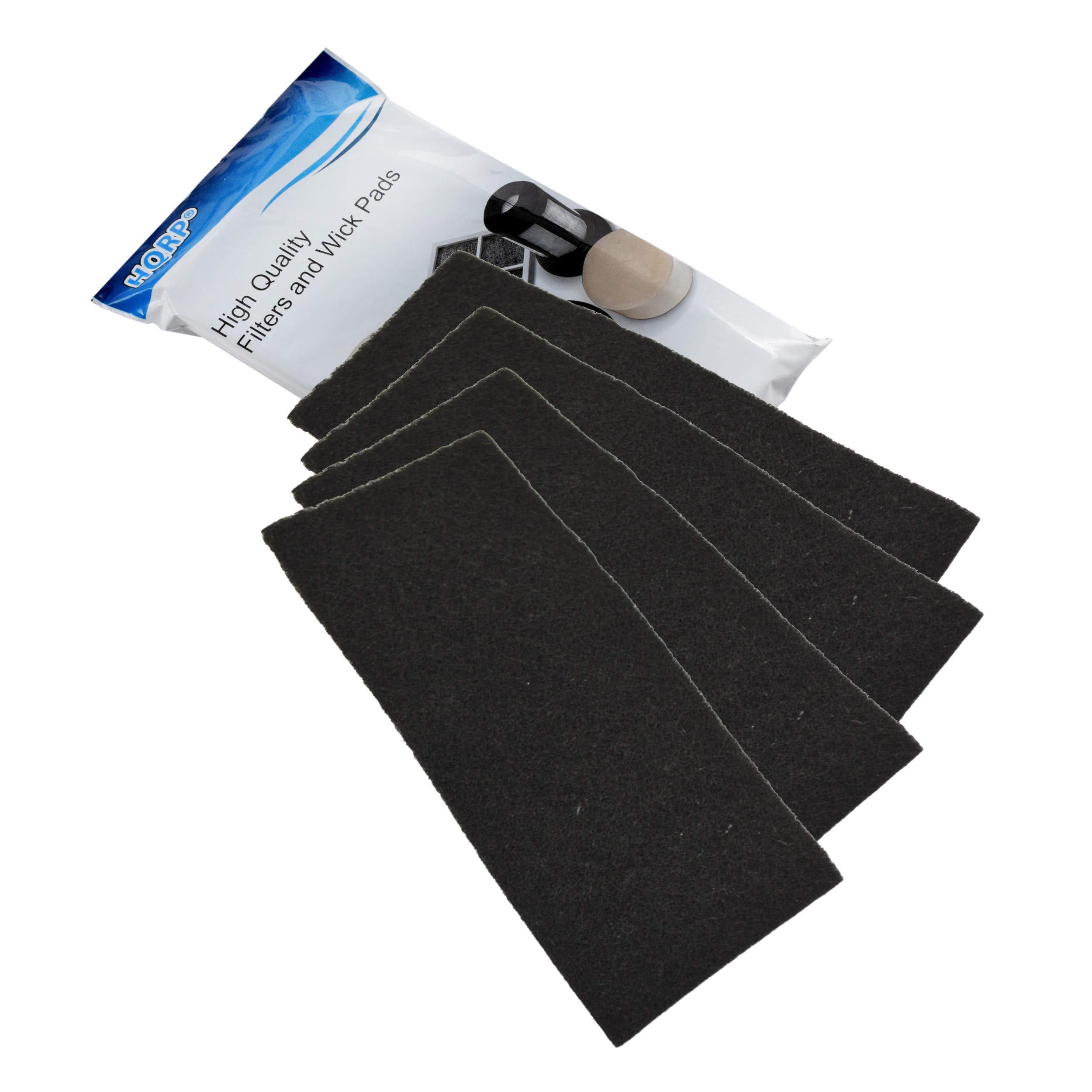 8x HQRP Carbon Filters for Holmes AER1 Series Air Purifier Filters BHOR31-1
