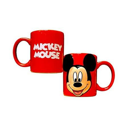 Disney Mickey Mouse Full Face 3D 11Oz Ceramic Relief Mug