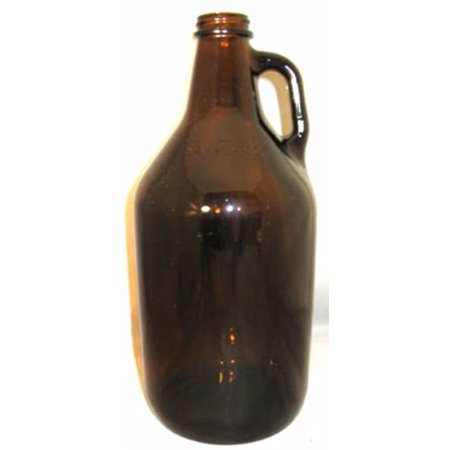 Amber 1/4 Gallon Glass Jug