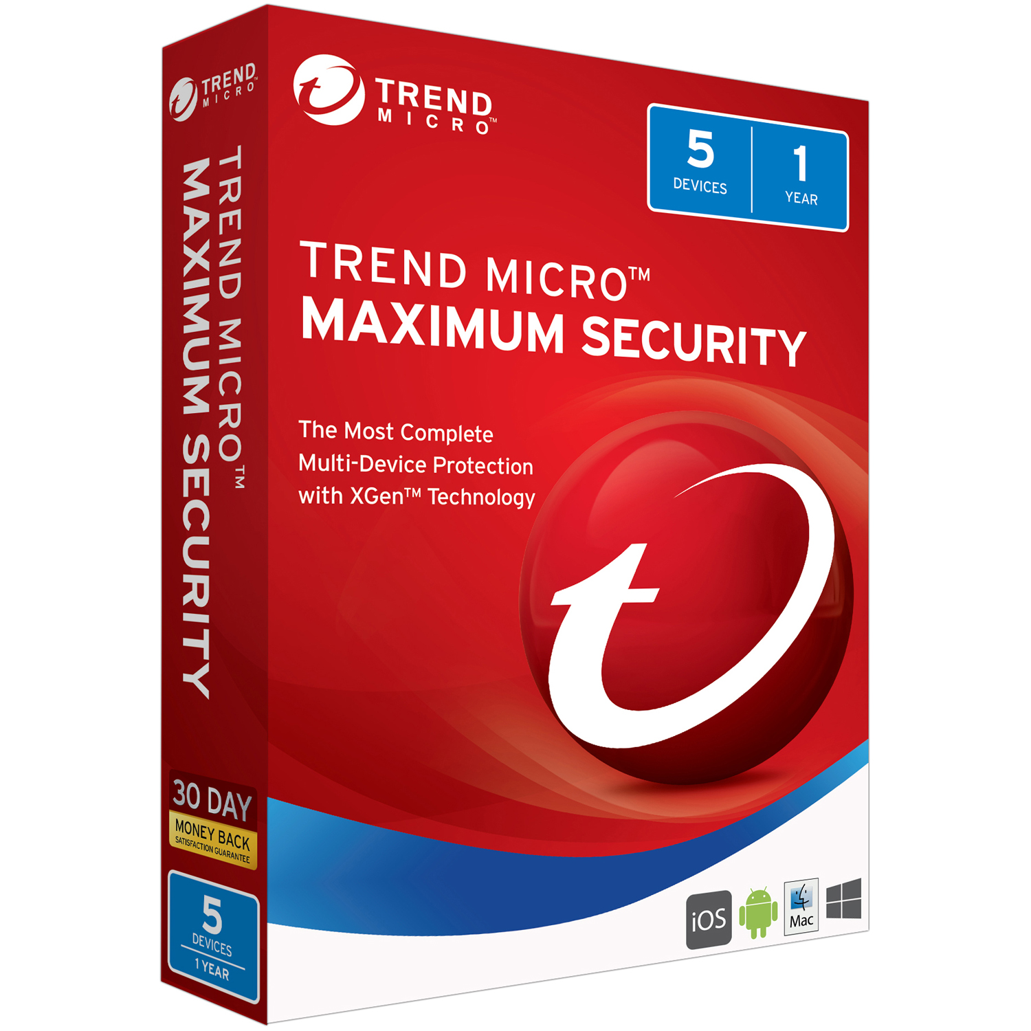 Trend Micro Maximum Security 5U 2018