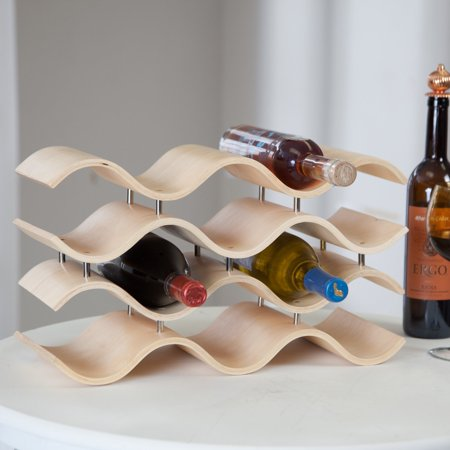 Oenophilia Bali 10-Bottle Wine Rack