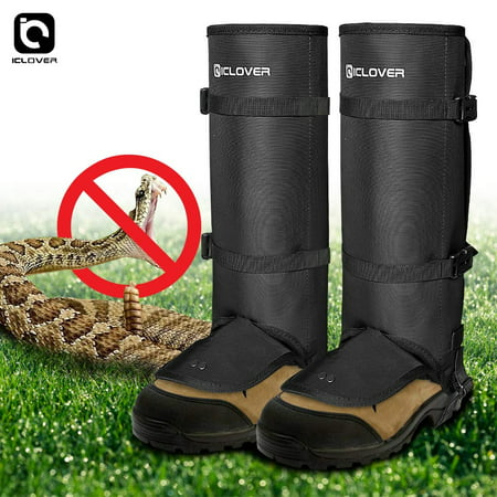 IC ICLOVER Snake Guards, New Upgraded Lightweight Stab-Resistant Snake Gaiters Proof Leggings, Protects Against Snake Bite of All Types of Rattlesnakes, Adjustable Size Fits for Men and Women thumbnail