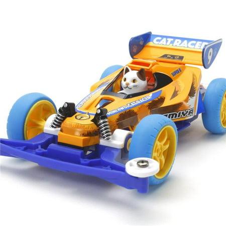 Tamiya 18090 Mini 4WD Cat Racer Super II Chassis 1/32 Scale Model
