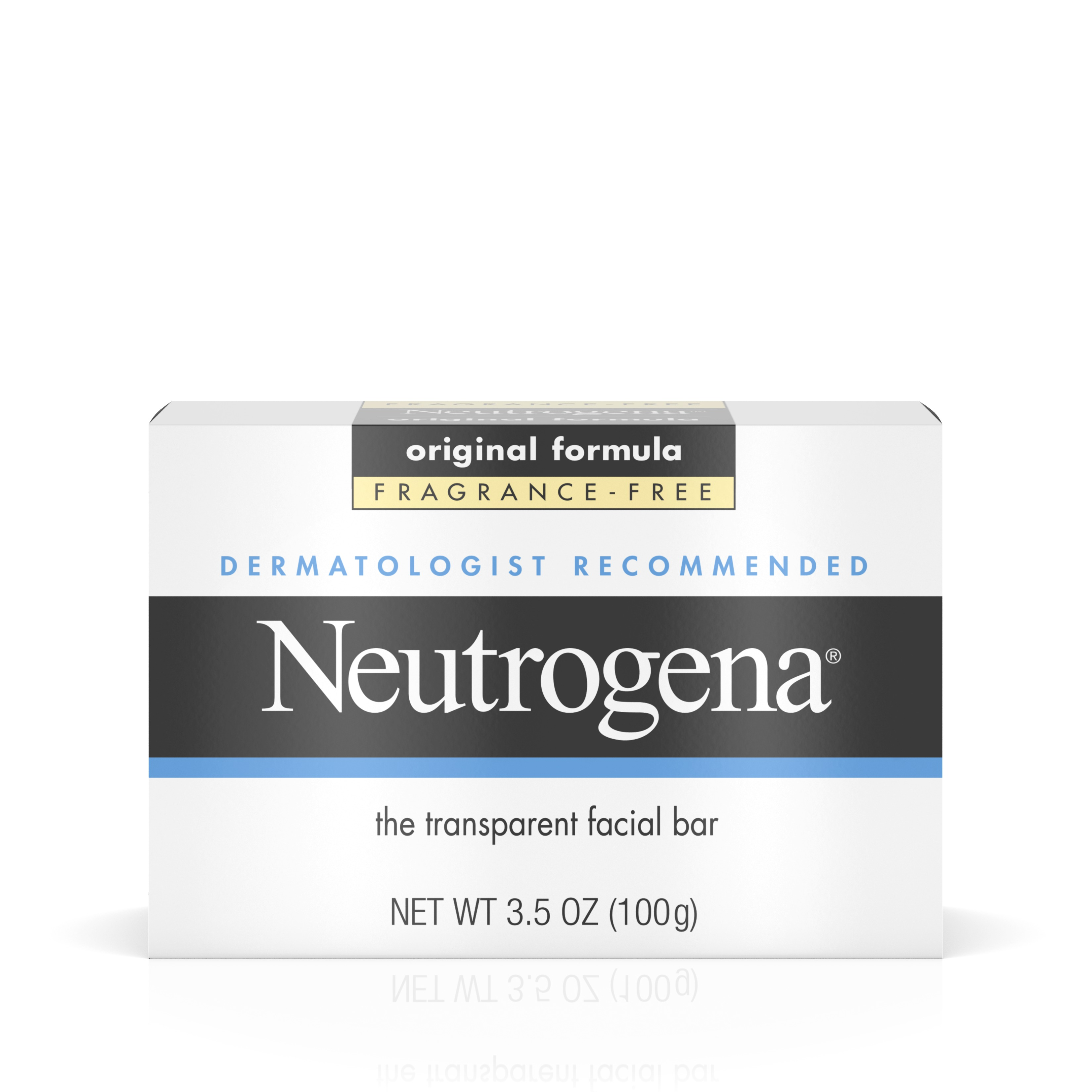 Neutrogena Facial Cleansing Bar, Fragrence Free, 3.5 Oz - Walmart.com