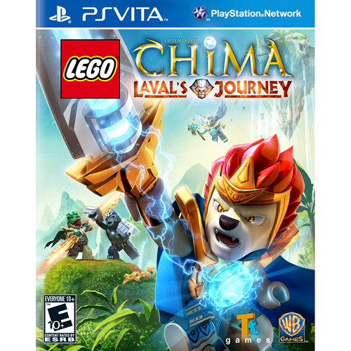 Lego Legends Of Chima: Leval's Journey (PSV)