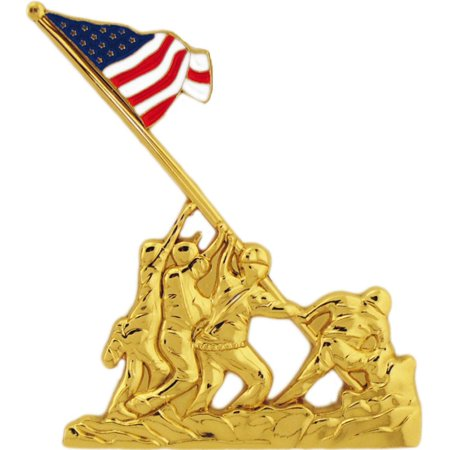 U.S.M.C. Iwo Jima Flag Raising Pin