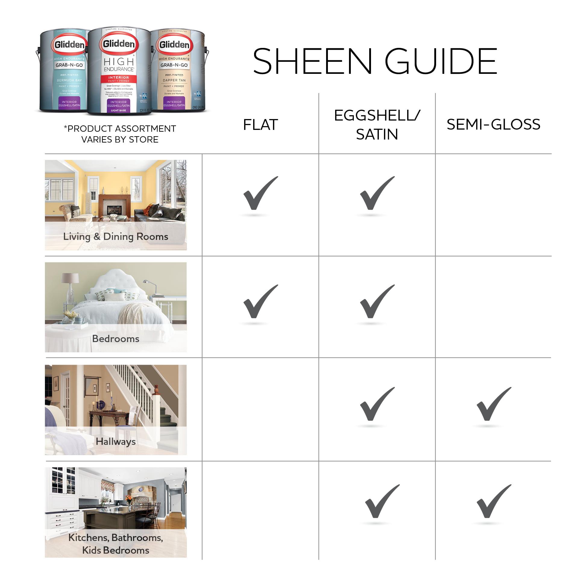 Glidden High Endurance Grab N Go, Interior Paint And Primer, Eggshell  Finish, Dapper Tan, 1 Gallon   Walmart.com