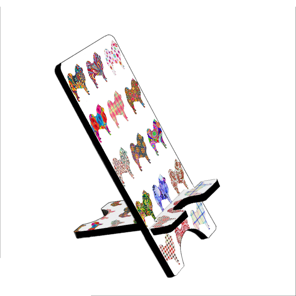 Chow Chow Dog - KuzmarK Folding Stand fits iPad Mini iPhone Samsung Galaxy
