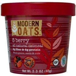 Modern Oats 5 Berry Oatmeal 6 cups, 12 Each (1