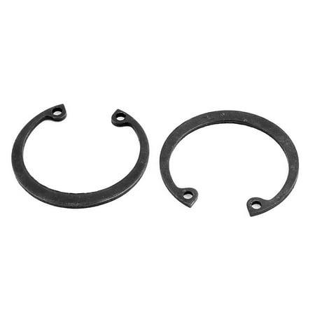 34mm Outer Dia Bearing Internal Retaining Ring Circlip 10 Pcs